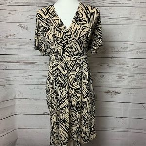 Max and Cleo V-Neck Wrap Dress